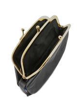 Leather Purse Etrier Black bourse E3691-vue-porte