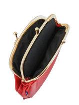 Leather Purse Etrier Pink bourse E3691-vue-porte