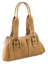 Shoulder Bag Petit prix cuir Beige - 00000003