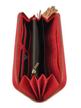 Wallet Leather Etrier Red tornade ETOR91-vue-porte