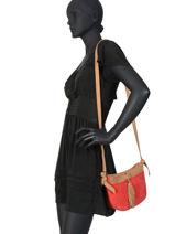 Crossbody Bag Tornade Leather Etrier Red tornade ETOR05-vue-porte