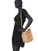 Crossbody Bag Tornade Leather Etrier Brown tornade ETOR07-vue-porte