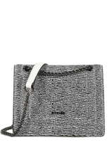 Crossbody Bag Delicate Fantaisie Leather Etrier Black delicate fantaisie EDEF02