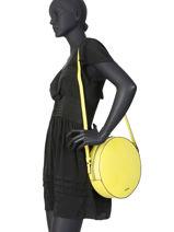 Large Shoulder Bag Darwin Leather Etrier Black darwin EDAR07-vue-porte