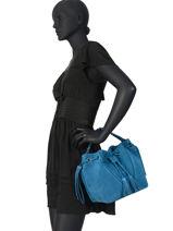 Sac Bourse Obstacle Cuir Etrier Bleu obstacle EOBS08-vue-porte