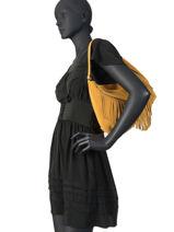 Hobo Bag Arizona Etrier Black arizona EARI03-vue-porte