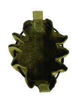 Leather Coin Purse Etincelle Nubuck Etrier Green etincelle nubuck EETN655-vue-porte