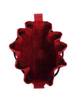 Leather Coin Purse Etincelle Nubuck Etrier Red etincelle nubuck EETN655-vue-porte