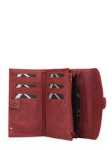 Wallet Etincelle Nubuck Leather Etrier Red etincelle nubuck EETN700-vue-porte