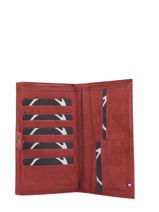 Leather Wallet Etincelle Nubuck Etrier Red etincelle nubuck EETN903-vue-porte