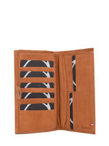 Leather Wallet Etincelle Nubuck Etrier Beige etincelle nubuck EETN903-vue-porte