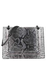 Medium Leather Delicate Fantaisie Crossbody Bag Etrier Black delicate fantaisie EDEF12