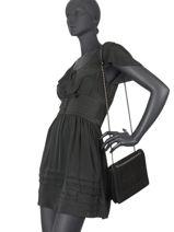 Shoulder Bag Bangkok Etrier Black bangkok EBAN05-vue-porte