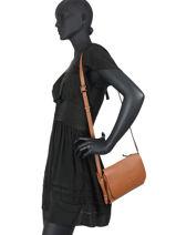 Crossbody Bag Balade Leather Etrier Brown balade EBAL11-vue-porte