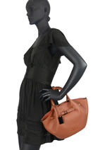 Top Handle Ecuyer Leather Etrier Beige ecuyer EECU05-vue-porte