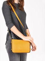 Shoulder Bag Balade Leather Etrier Orange balade EBAL05-vue-porte