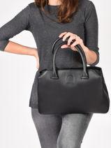 Top Handle Balade Leather Etrier Black balade EBAL06-vue-porte