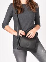 Crossbody Bag Balade Leather Etrier Black balade EBAL11-vue-porte