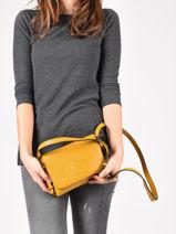 Crossbody Bag Balade Leather Etrier Orange balade EBAL12-vue-porte