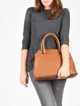 Top Handle Balade Leather Etrier Brown balade EBAL06-vue-porte
