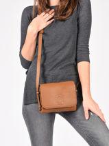 Crossbody Bag Balade Leather Etrier Brown balade EBAL12-vue-porte