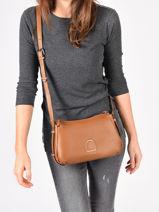 Crossbody Bag Balade Leather Etrier Black balade EBAL13-vue-porte