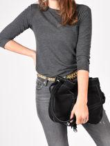 Crossbody Bag Tornade Leather Etrier Black tornade ETOR07-vue-porte