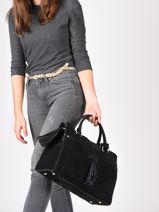 Top Handle Tornade Leather Etrier Black tornade ETOR08-vue-porte