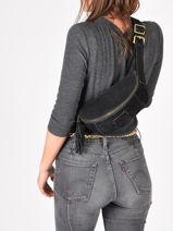 Leather Belt Bag Tornade Etrier Black tornade ETOR10-vue-porte