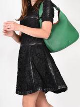 Shoulder Bag Ecuyer Leather Etrier Yellow ecuyer EECU02-vue-porte