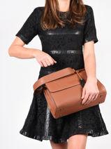 Top Handle Ecuyer Leather Etrier Brown ecuyer EECU03-vue-porte