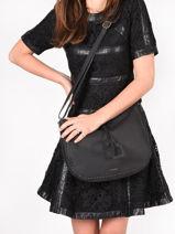 Crossbody Bag Tradition Leather Etrier Black tradition EHER2A-vue-porte