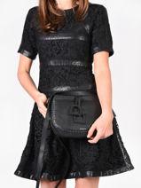 Crossbody Bag Tradition Leather Etrier Black tradition EHER3A-vue-porte