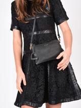 Shoulder Bag Tradition Leather Etrier Black tradition EHER14-vue-porte