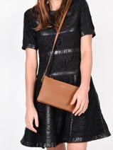 Shoulder Bag Tradition Leather Etrier Brown tradition EHER14-vue-porte