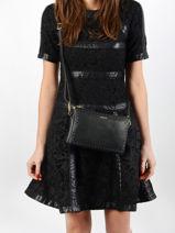 Crossbody Bag Tradition Leather Etrier Black tradition EHER30-vue-porte