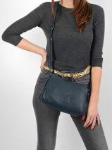 Crossbody Bag Balade Leather Etrier Blue balade EBAL13-vue-porte