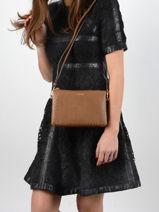 Crossbody Bag Tradition Leather Etrier Brown tradition EHER30-vue-porte