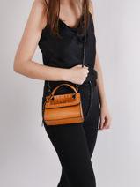 Mini-bag Arizona Leather Etrier Black arizona EARI27-vue-porte