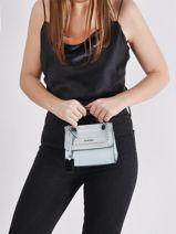 Mini-sac Arizona Cuir Etrier Bleu arizona EARI27-vue-porte