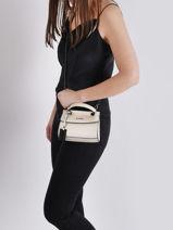 Mini-bag Arizona Leather Etrier White arizona EARI27-vue-porte