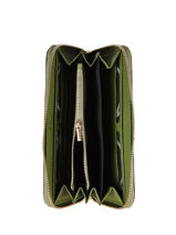 Wallet Leather Etrier Green tradition EHER91-vue-porte