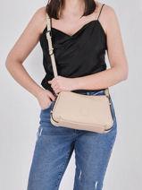 Crossbody Bag Balade Leather Etrier Beige balade EBAL13-vue-porte