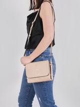 Crossbody Bag Balade Leather Etrier Beige balade EBAL11-vue-porte