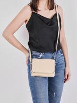 Crossbody Bag Balade Leather Etrier Beige balade EBAL12-vue-porte