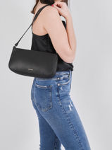 Crossbody Bag Tradition Leather Etrier Black tradition EHER35-vue-porte