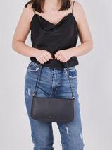 Crossbody Bag Tradition Leather Etrier Blue tradition EHER35-vue-porte
