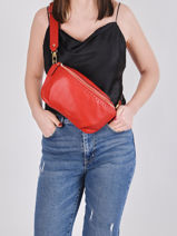 Sac Banane Tradition Cuir Etrier Rouge tradition EHER33-vue-porte