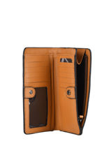 Purse Leather Etrier Brown arizona EARI96-vue-porte