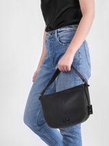 Top Handle Ecuyer Leather Etrier Black ecuyer EECU06-vue-porte